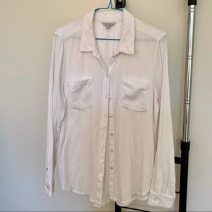 White long sleeve top from Lucky Brand (Size S/P)